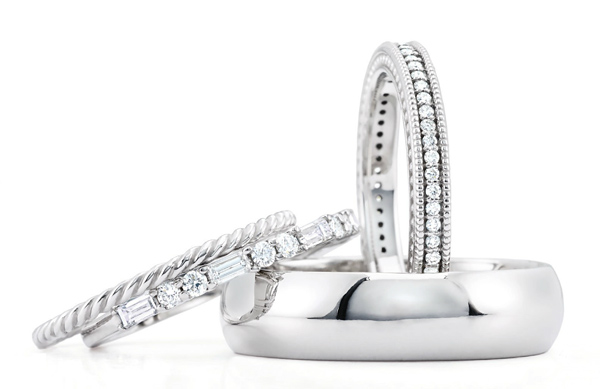 Platinum wedding ring styles