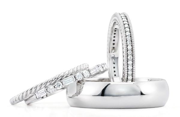 Platinum wedding ring styles